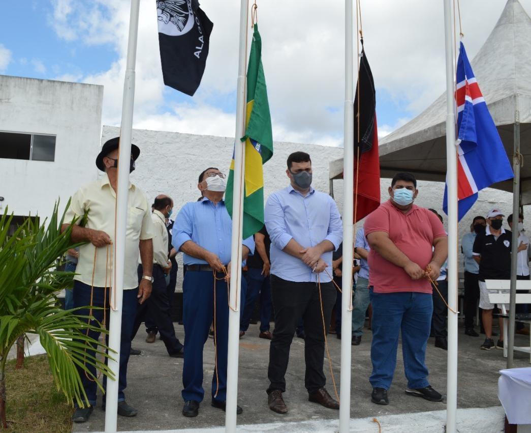 Prefeitura de Alagoa Grande celebra o dia 7 de setembro com cerimônia de hasteamento das bandeiras