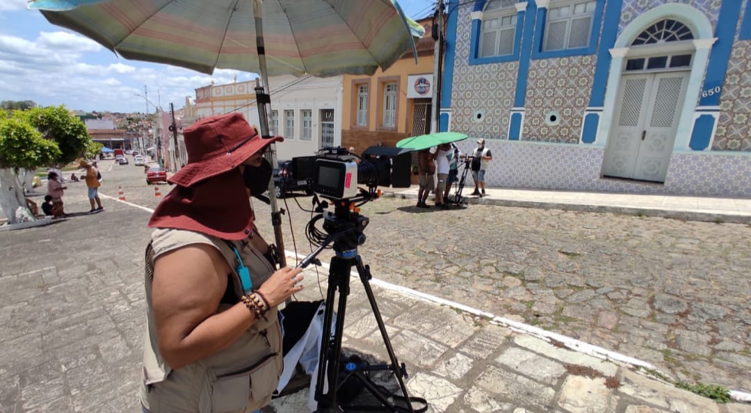 Flora, a mãe do rei – curta metragem é rodado no município de Alagoa Grande