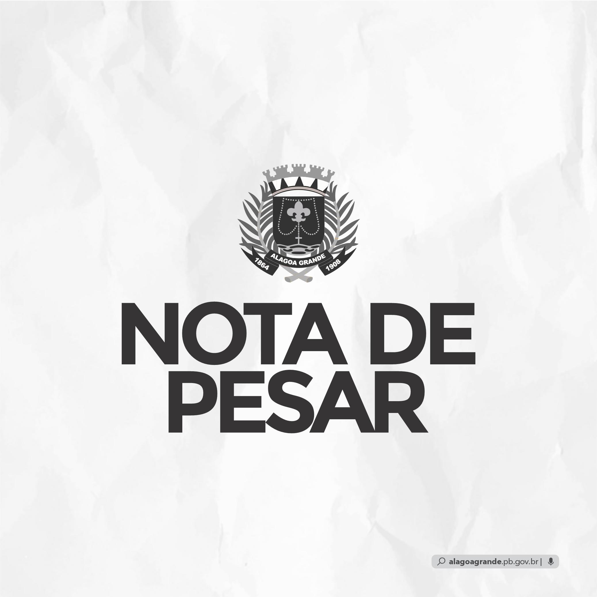 Nota de Pesar – Raquel de Queiroz Bezerra Carneiro